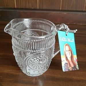 The Pioneer Woman Adeline Clear Glass Creamer